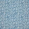 Blue Flower Cutout Paper