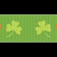 The Lucky One - Green Shamrock Ribbon 2