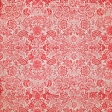 Quilted With Love - Modern Red Floral Fabric Paper