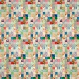 Quilted With Love - Modern Rainbow Patchwork Quilt Paper