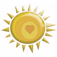 Sunshine and Lemons - Sun Sticker