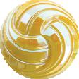 Sunshine and Lemons - Yellow Button