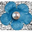 Hello - Blue Flower