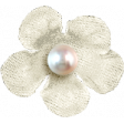 Hello - Cream Flower