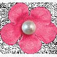 Hello - Dark Pink Flower