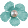 Hello - Teal Flower