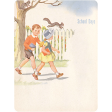 Oh Baby, Baby - School Days Journal Card