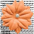 Oh Baby Orange Silk Flower