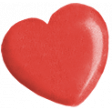 Oh Baby Red Heart Bead