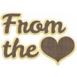 Many Thanks - From the Heart Word Art