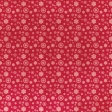 Summer Fields Red Floral Paper