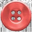 Summer Fields - Coral Button