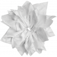 Pond Life - White Fabric Flower 1