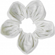 Pond Life - White Fabric Flower 2