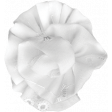 Pond Life - White Fabric Flower 3