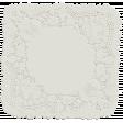 Garden Party - White Doily