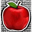 Apples Sticker Red