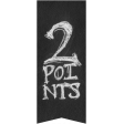 Basketball Banner 2 points