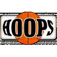 Basketball Sticker Hoops