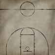 Basketball Paper Court