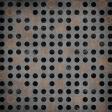 Basketball Paper Dots Circles Black