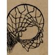 Basketball Card 3x4 Hoop Sketch