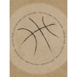 Basketball Card 3x4 Love The Game