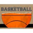 Basketball Card 4x3 Ball Torn