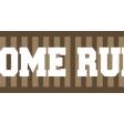 Baseball Ribbon Home Run