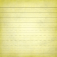 School Paper Lined Yellow