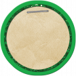 School Tag Circle Green