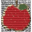 Crisp Fall Air Apple Red