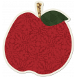Crisp Fall Air Sticker Apple Red