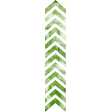 Football Stamp Chevron Green