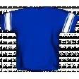 Football Jersey Back Blue