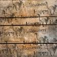 Spook Paper Wood Stamped
