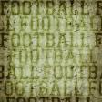 Football Paper Green
