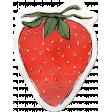 Kitchen Sticker Strawberry