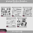 Vintage Kitchen Graphics Bundle Vols. 1-5