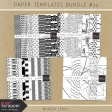 Paper Templates Bundle #24