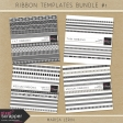 Ribbon Templates Bundle #1