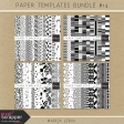 Paper Templates Bundle #14