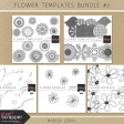 Flower Templates Bundle #2