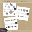 Flower Templates Bundle #3