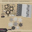 Winter Arabesque - Template Bundle