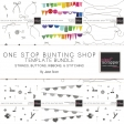 One Stop Bunting Shop Template Bundle