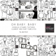 Oh Baby, Baby - Template Bundle