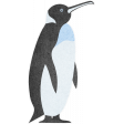 Perky Penguins - Penguin Sticker
