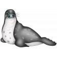 Perky Penguins - Seal Sticker
