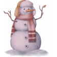 PS Blog Train Jenuary 2021 -  Snowman